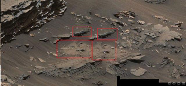 Extraños objetos en una imagen del Curiosity en Marte Marte_18