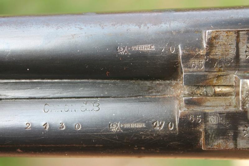 Recherche marque de ce fusil Boris110