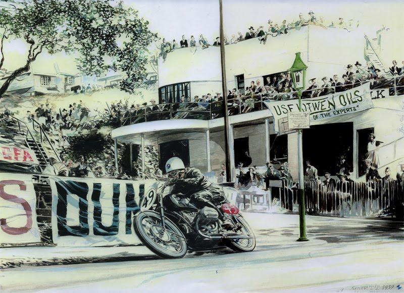 l'artiste et motard Denis Sire expose  Contin10