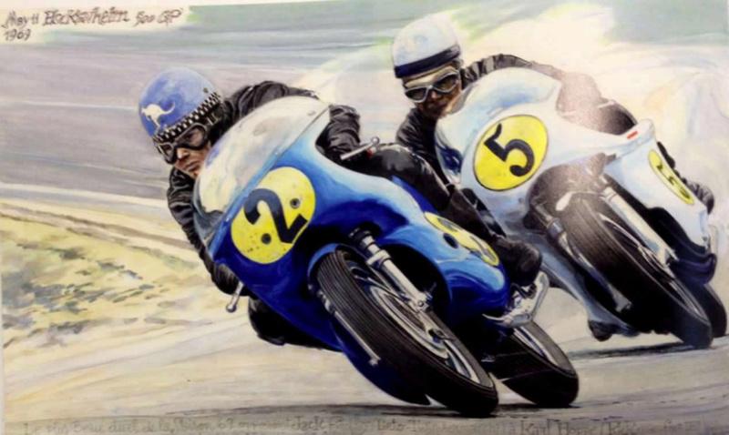 l'artiste et motard Denis Sire expose  Dessin10