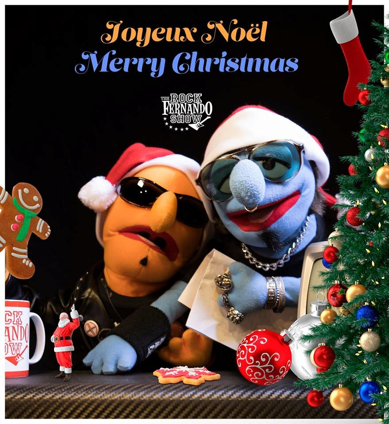 joyeux noel musical rock'n'roll a tous..cover 25550110