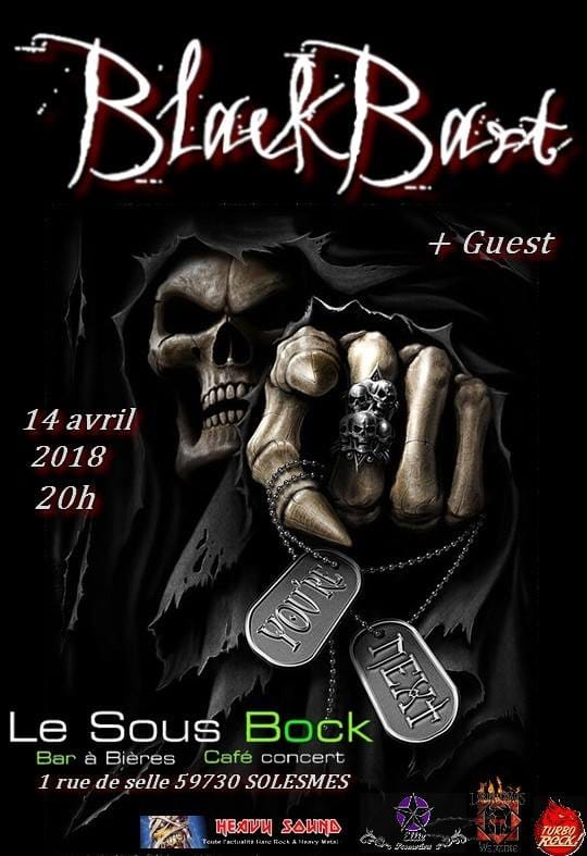BLACKBART  heavy metal   LILLE 27072410
