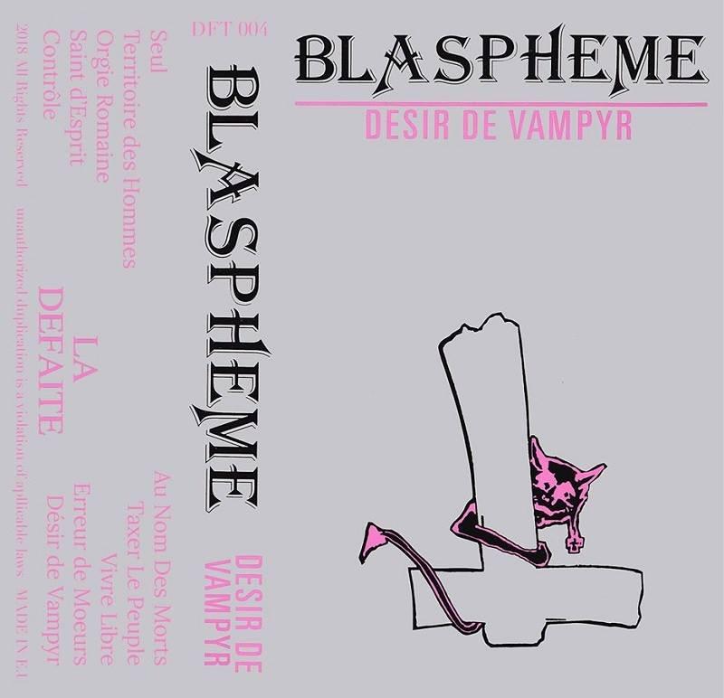 """reédition en cassette BLASPHEME """"désir de vampire"""" Christophe Bailet 31265210"""