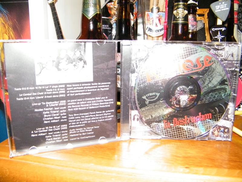 PSYCHOSE Ta destruction (1991-2017) Edition No Remorse Records (Christophe Bailet) Dscf6240