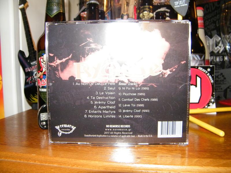 PSYCHOSE Ta destruction (1991-2017) Edition No Remorse Records (Christophe Bailet) Dscf6241