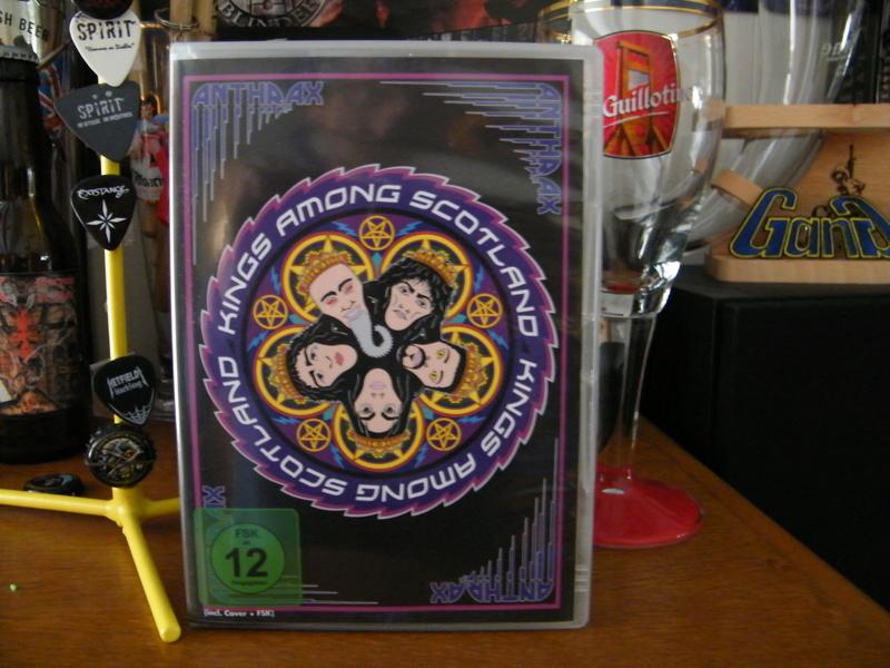 Nouveau DVD pour ANTHRAX : Kings Among Scotland (2018) Dscf6516