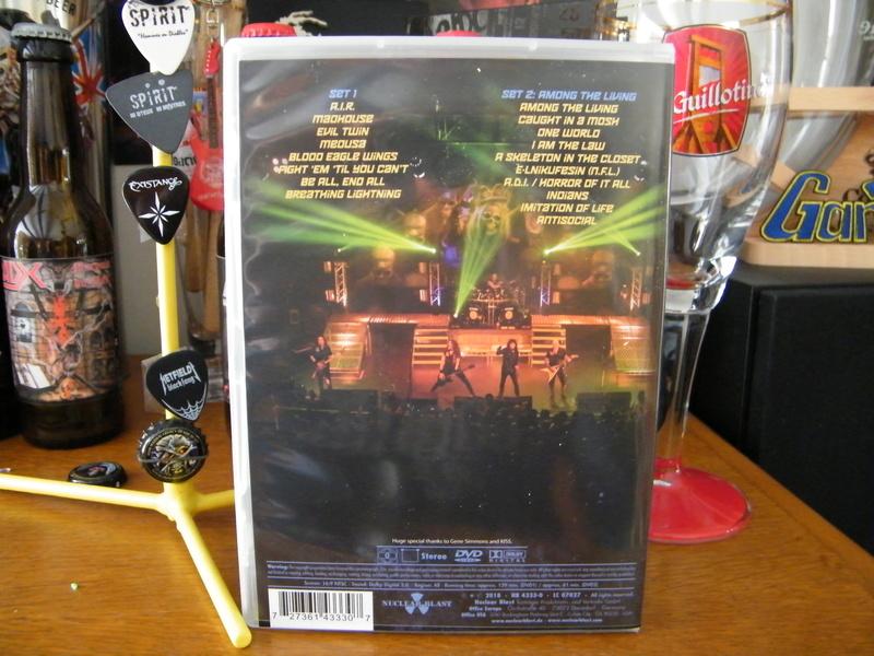 Nouveau DVD pour ANTHRAX : Kings Among Scotland (2018) Dscf6517