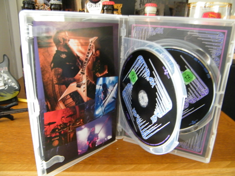 Nouveau DVD pour ANTHRAX : Kings Among Scotland (2018) Dscf6518