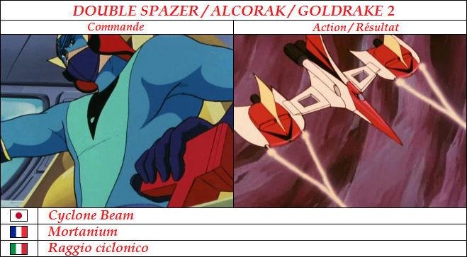 Goldorak : Commandes et Armement. Mortan10