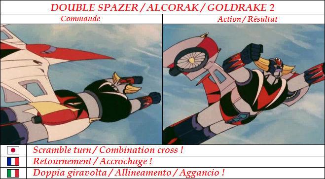 Goldorak : Commandes et Armement. Retour10