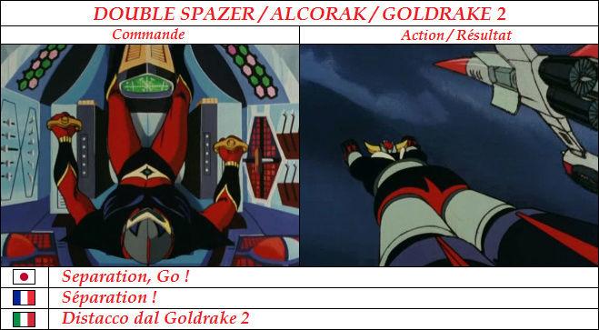 Goldorak : Commandes et Armement. Sypara11