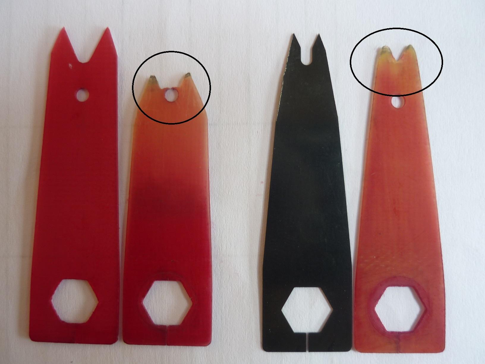 Les lames de repose-flèche - L'alternative Launchtec P1040610