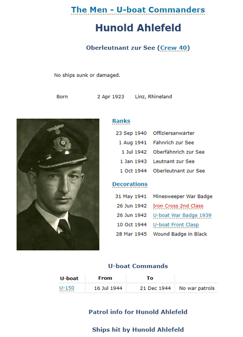 Futur commandant de U-Boot 210