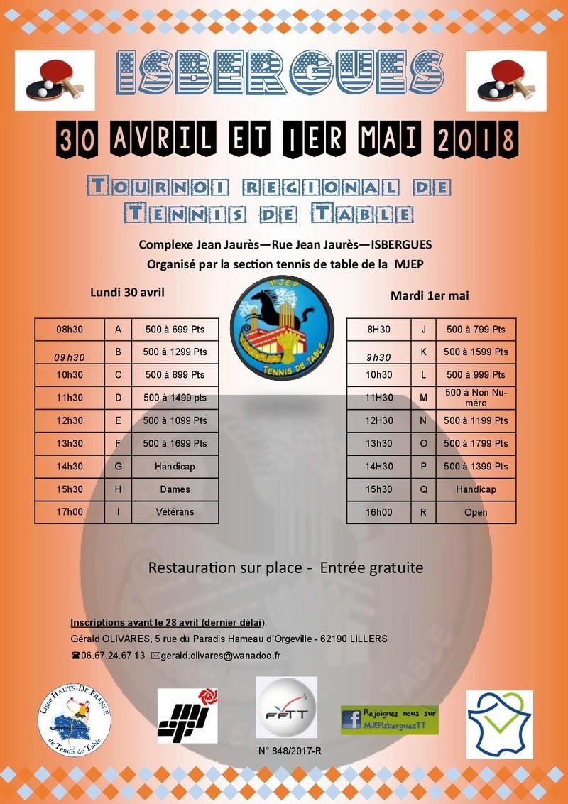 Tournoi MJEP Isbergues 2018 Tourno10