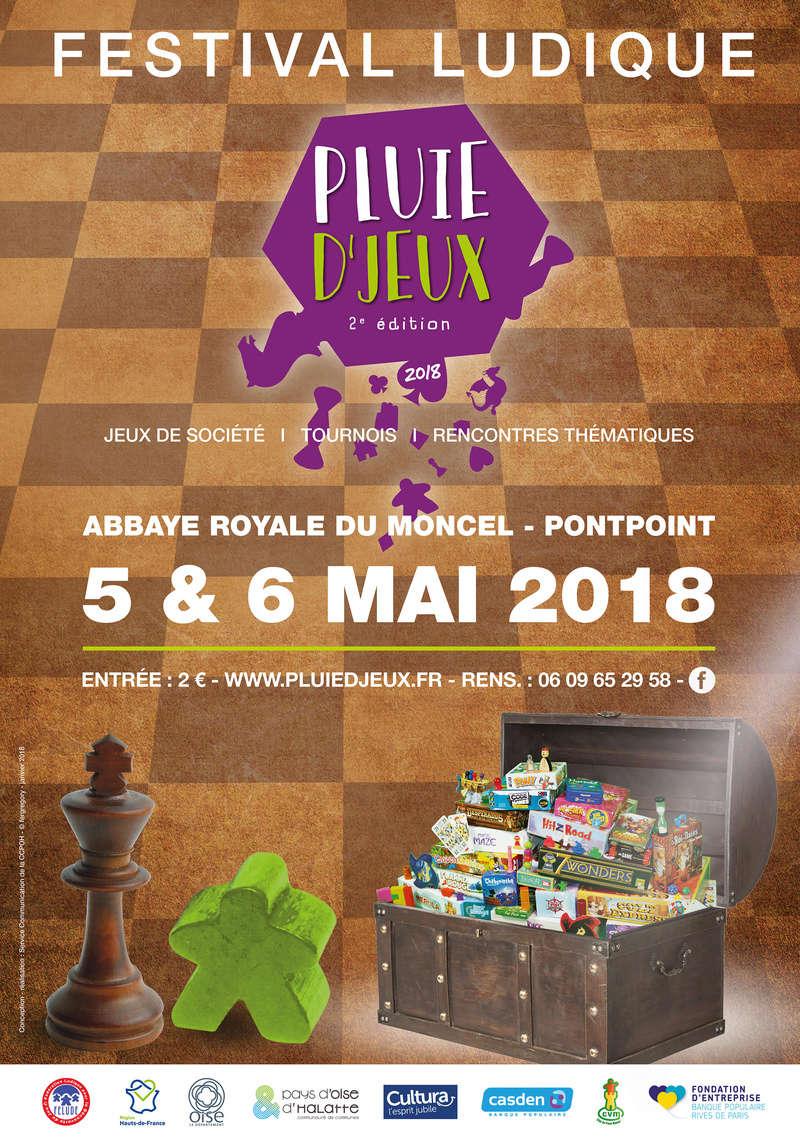 Pluie d'Jeux 5 & 6 mai 2018 Affich10