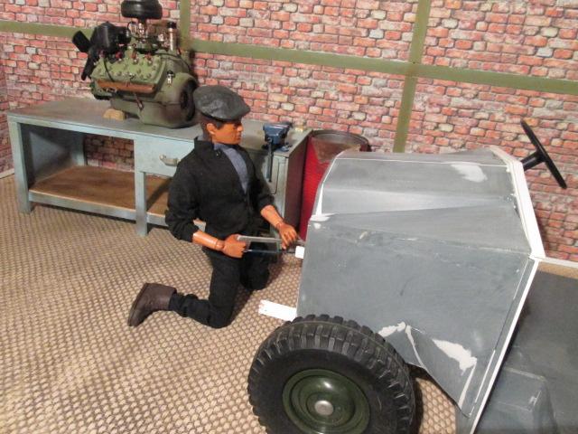 "Drik is building a WW2 British "" MORRIS CS8 "" Img_1313"
