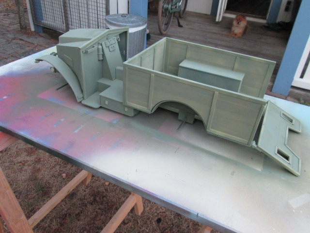"Drik is building a WW2 British "" MORRIS CS8 "" Img_1335"