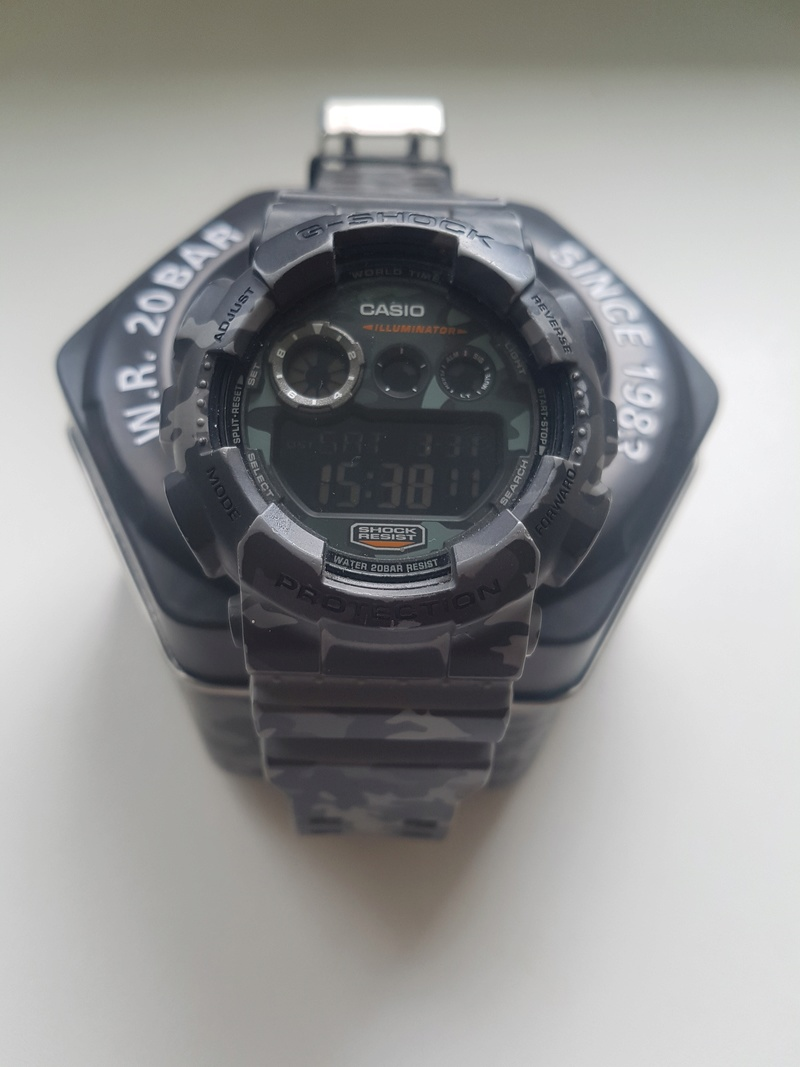 [Vends] Casio G shock 20180310