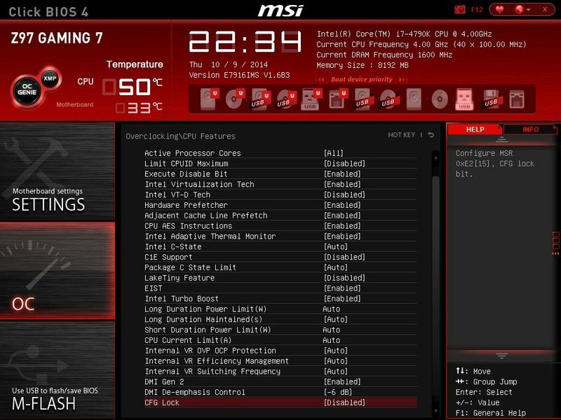 PB installation High sierra  Msi-310