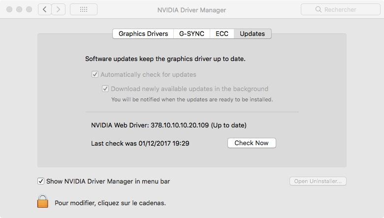 sécurité update   Driver10