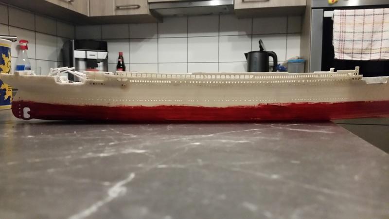 Titanic von Revell in 1/570 20171010