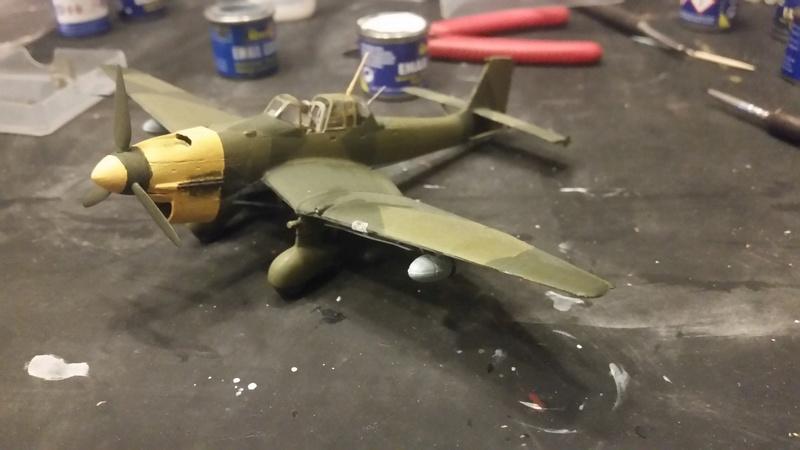 Junkers Ju 87 Stuka / Revell, 1:72 20171112