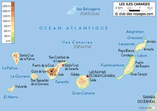 Cap Vert - Açores - Canaries 36210