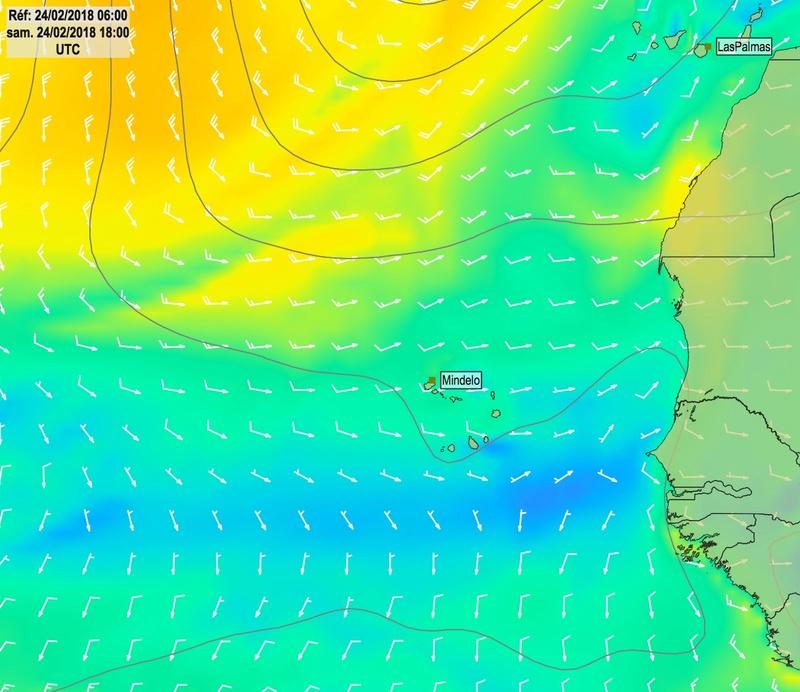Cap Vert - Açores - Canaries Alized10