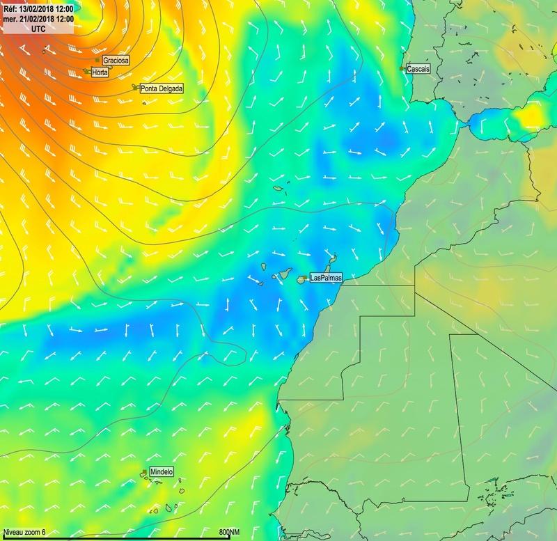 Cap Vert - Açores - Canaries Mer21010