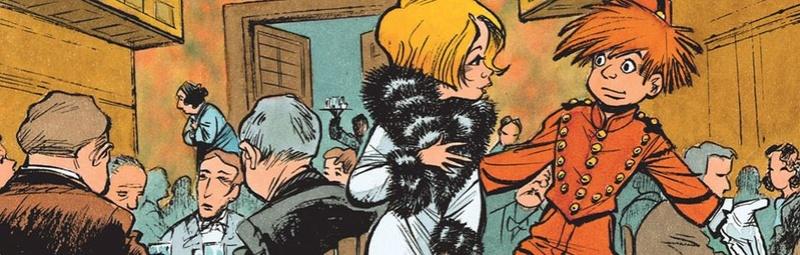 Mademoiselle J et Ptirou par Yves Sente et Laurent Verron A410