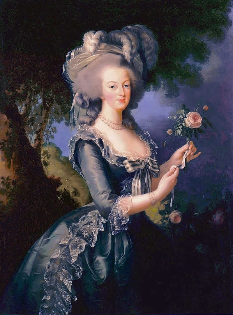 Portraits of Marie-Antoinette and Courtly Life Decora10