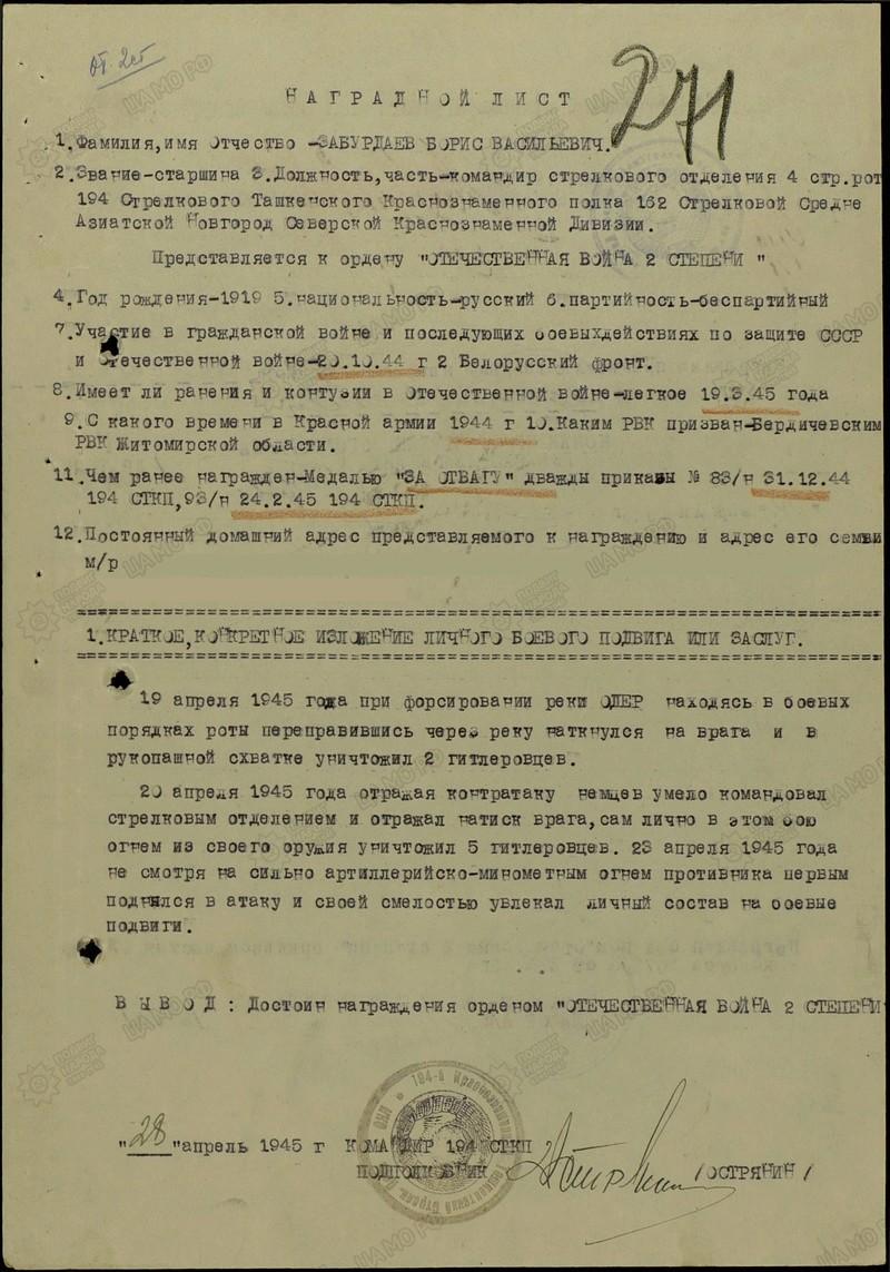 Забурдаев Борис Васильевич З Filter14