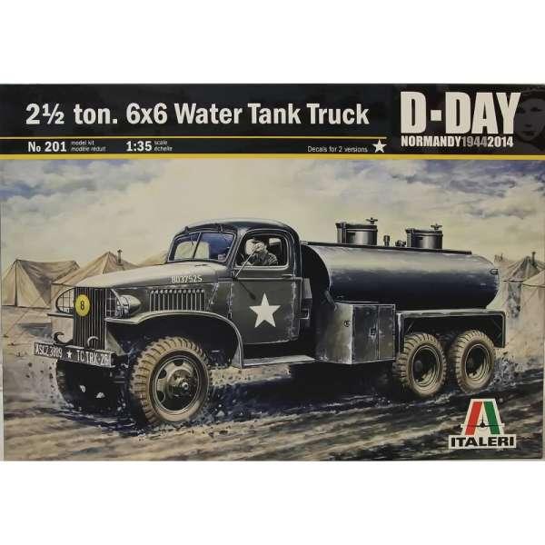 GMC Water tank truck (1/35 de Italeri) 2-12-t10