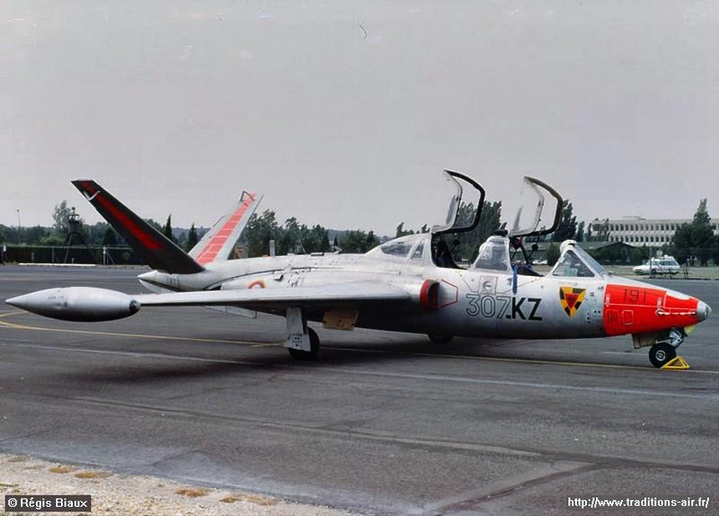 Fouga Cm170 magister (1/48° de Wingman models) N° 2 (fini avec photos) Ecole310