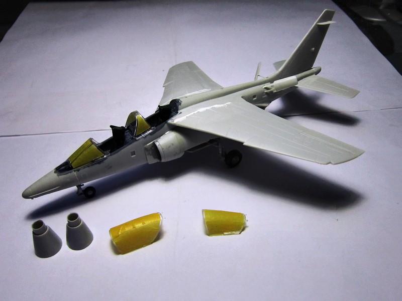 ( Kinetic ) Alpha-jet A/E   1/48 *** Terminé en pg 2 *** - Page 2 Img_6137