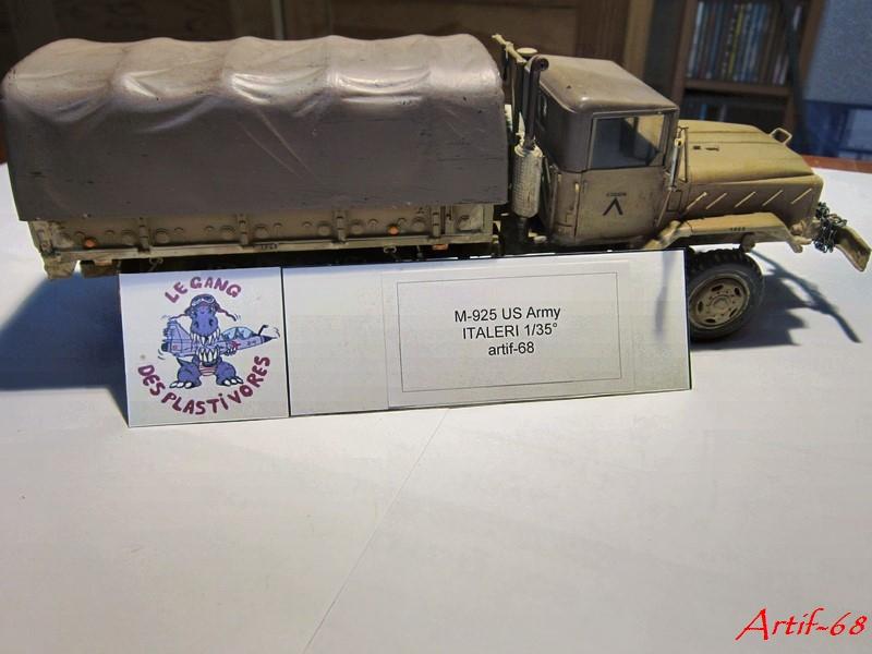 M-925 US 5t truck 6x6 [1/35° de Italeri] - Arabie Saoudite 1991 Img_6243