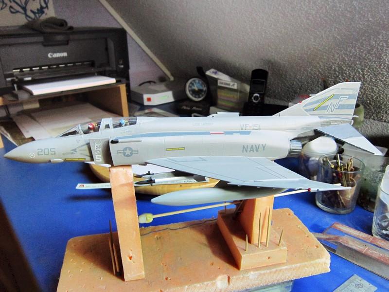 F-4S Navy Phantom de Italeri au 48° (rajout des photos du dio fini) Img_6480
