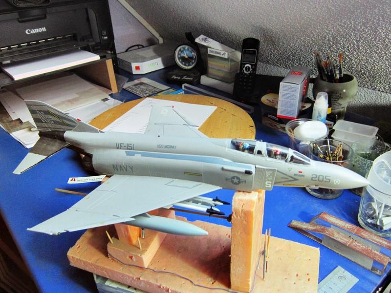 F-4S Navy Phantom de Italeri au 48° (rajout des photos du dio fini) Img_6482