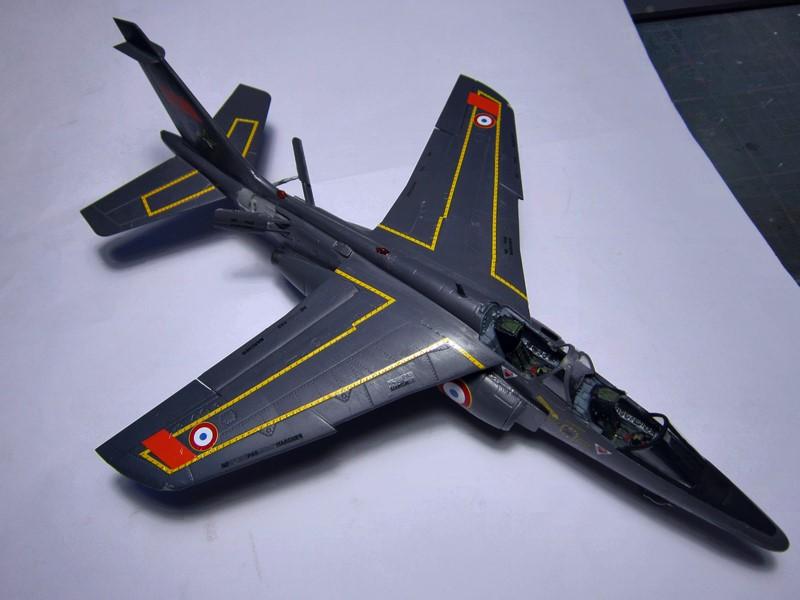 ( Kinetic ) Alpha-jet A/E   1/48 *** Terminé en pg 2 *** - Page 2 Img_6611