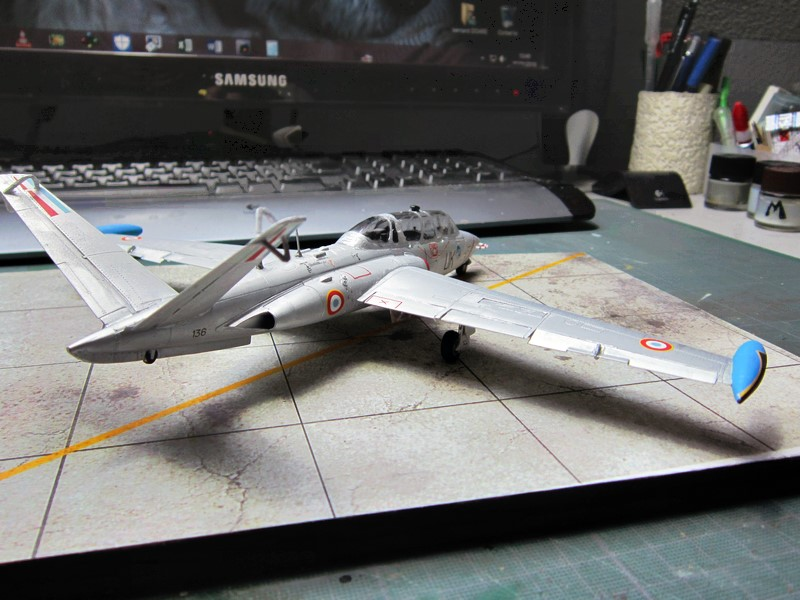 Fouga Cm170 magister (1/48° de Wingman models) N° 1 Img_6661