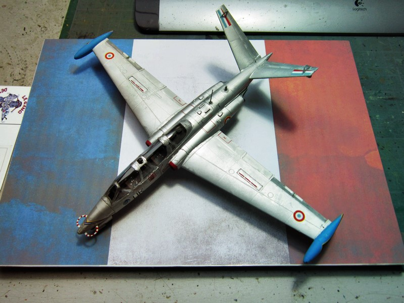 Fouga Cm170 magister (1/48° de Wingman models) N° 1 Img_6720
