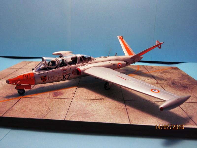 Fouga Cm170 magister (1/48° de Wingman models) N° 2 (fini avec photos) Img_6740