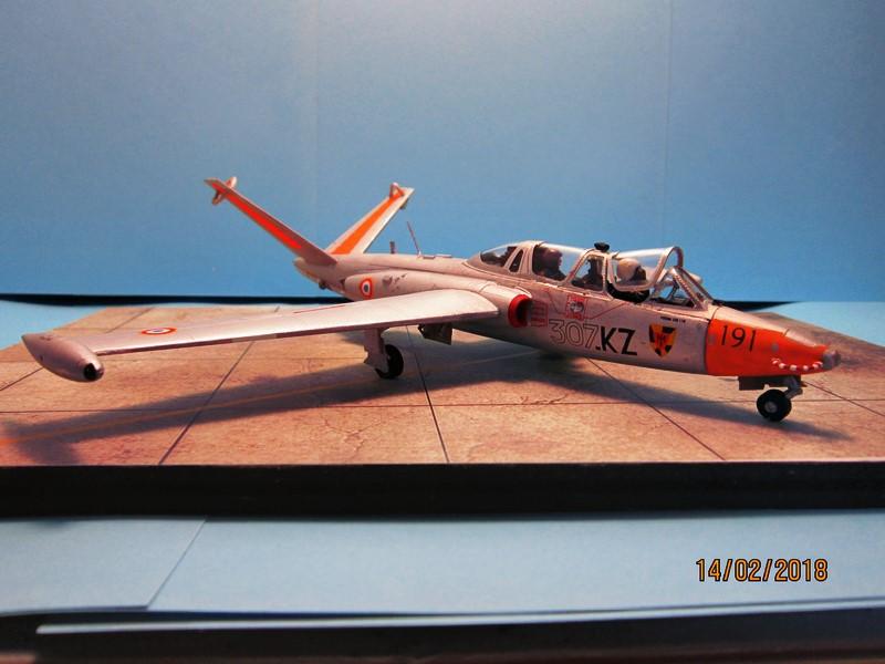 Fouga Cm170 magister (1/48° de Wingman models) N° 2 (fini avec photos) Img_6741