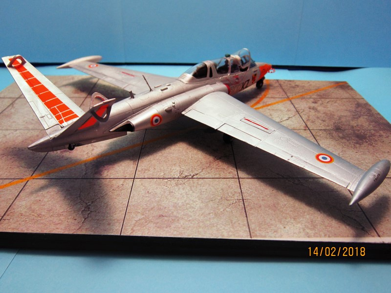 Fouga Cm170 magister (1/48° de Wingman models) N° 2 (fini avec photos) Img_6742