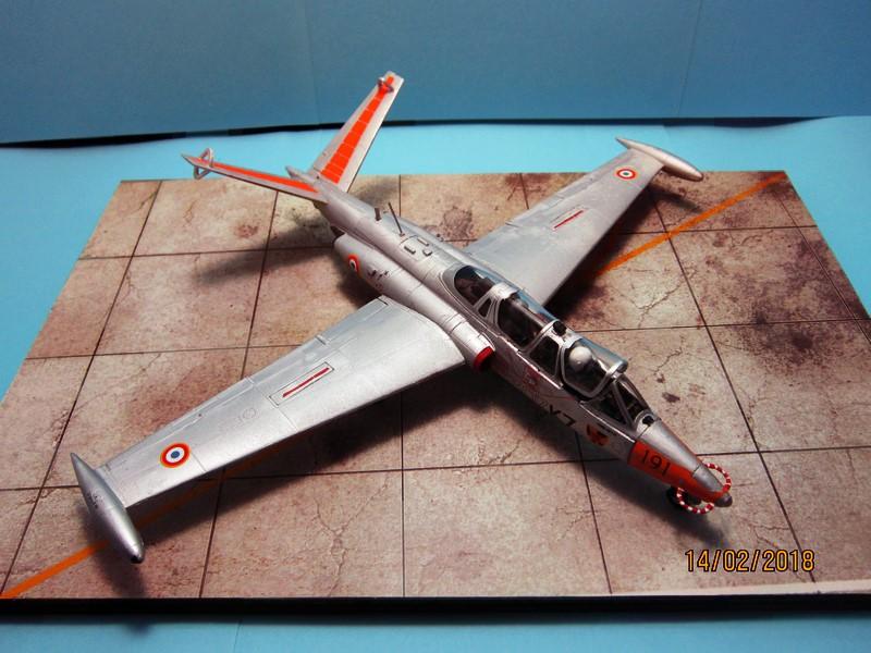 Fouga Cm170 magister (1/48° de Wingman models) N° 2 (fini avec photos) Img_6743