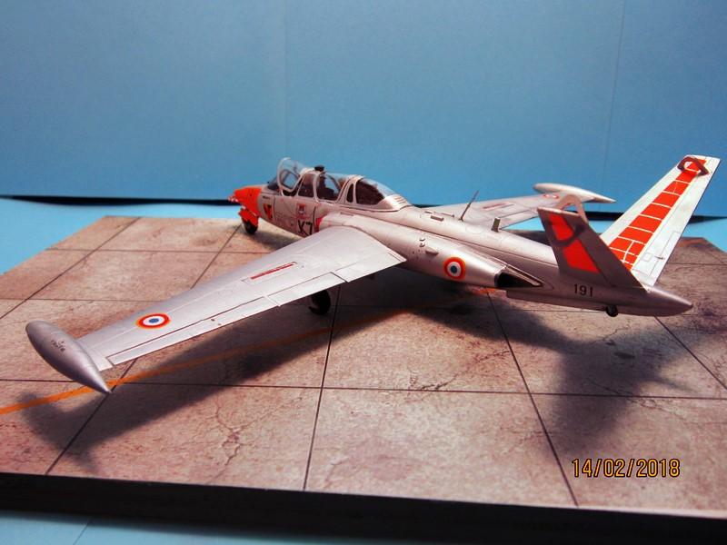 Fouga Cm170 magister (1/48° de Wingman models) N° 2 (fini avec photos) Img_6744
