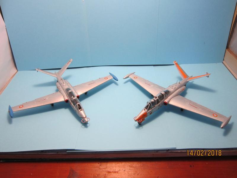 Fouga Cm170 magister (1/48° de Wingman models) N° 2 (fini avec photos) Img_6745