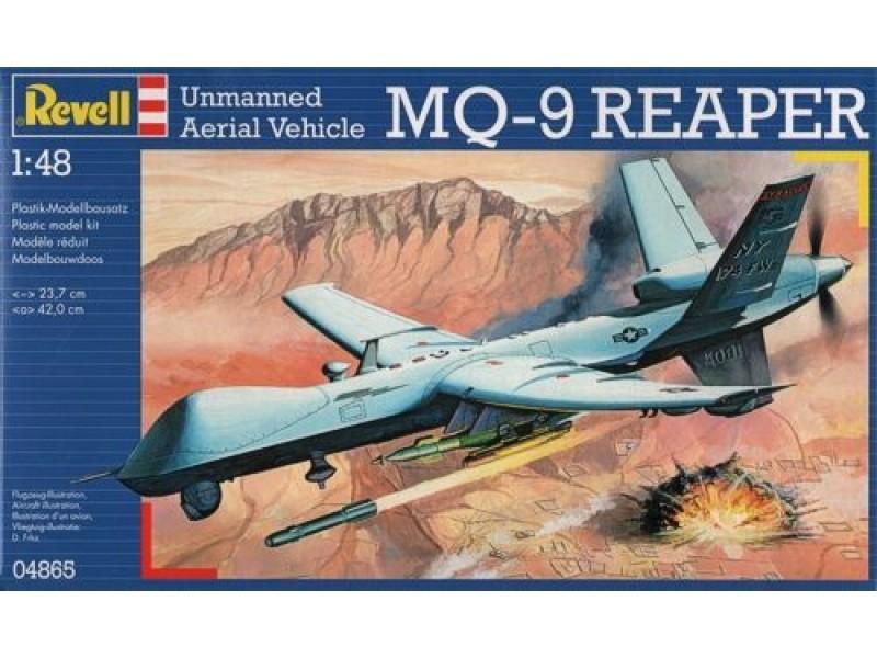 MQ-9 REAPER (1/48° de Revell) (Fini) Rvl04810