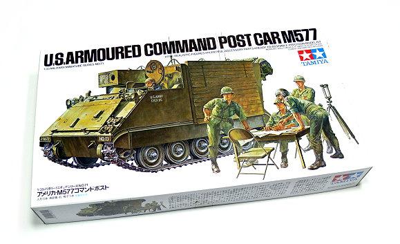 M577 armoured command post car (1/35 de Tamiya) voila le Dio Tamiya10