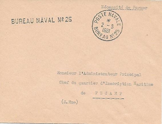 N°25 - Bureau Naval de Casablanca 2510